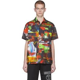 Moschino Multicolor Poplin Shirt 0212 2057