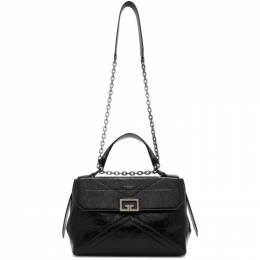 Givenchy Black Medium Crinkled ID Bag BB50C4B0TT