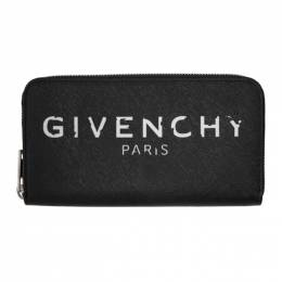 Givenchy Black Iconic Zip Wallet BB600JB0T0