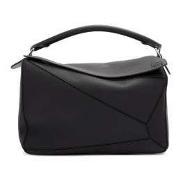 Loewe Black Large Puzzle Bag 322.12.S19