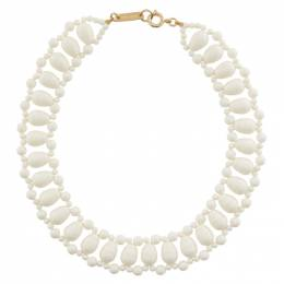 Isabel Marant White Malawi Necklace RC0188-20P014B