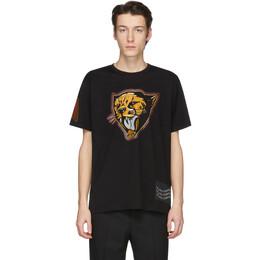 Givenchy Black Cheetah T-Shirt BM70W23002
