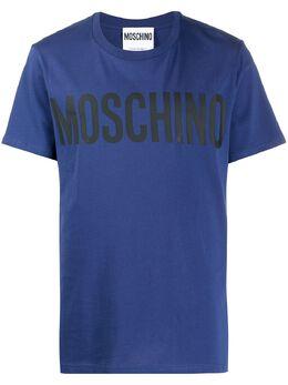 Moschino футболка с логотипом A07052040