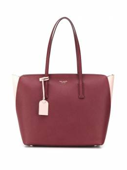 Kate Spade сумка-тоут с металлическим логотипом PXRUA226