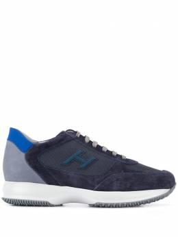 Hogan кроссовки со вставками HXM00N0Q102N6Z50C3