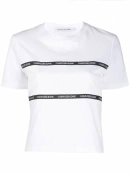 Calvin Klein Jeans футболка с вышитым логотипом J20J213282
