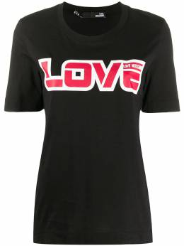Love Moschino футболка с логотипом W4F152AM3876