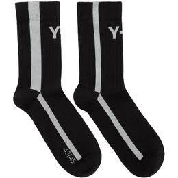 Y-3 Black Logo Socks FQ6979