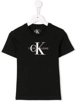 Calvin Klein Kids футболка с логотипом IB0IB00032