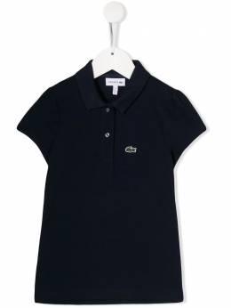 Lacoste Kids рубашка-поло с нашивкой-логотипом PJ359400