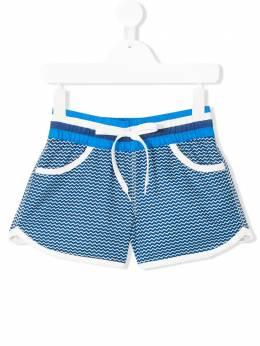 Perfect Moment Kids летние шорты с зигзагообразным узором S18K0331706