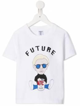 Ground Zero футболка с принтом Future GZK001ABOY