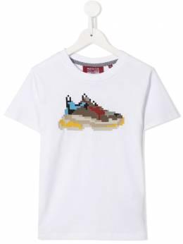 Mostly Heard Rarely Seen 8-Bit футболка с принтом Dadcore MHEBMM02AICT17