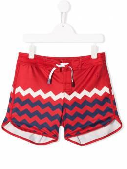 Perfect Moment Kids плавки-шорты с принтом S19K0281702