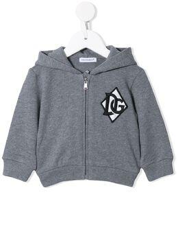 Dolce & Gabbana Kids куртка на молнии с вышивкой L1JW2VG7WDJ
