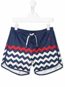 Perfect Moment Kids плавки-шорты с принтом S19K0281701