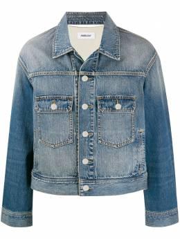 Ambush джинсовая куртка с логотипом 12111796
