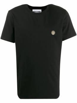Moschino футболка с логотипом A07192040