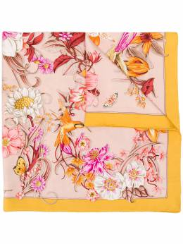 Salvatore Ferragamo платок с цветочным принтом 727049