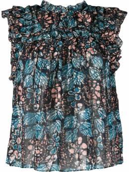 Ulla Johnson блузка без рукавов с цветочным принтом PS200208