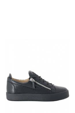 Ботинки из черной фактурной кожи Giuseppe Zanotti Design 2096174305
