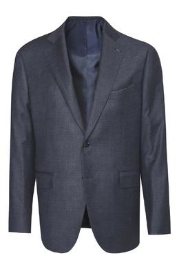 Темно-синий шерстяной костюм Lardini 2453175083