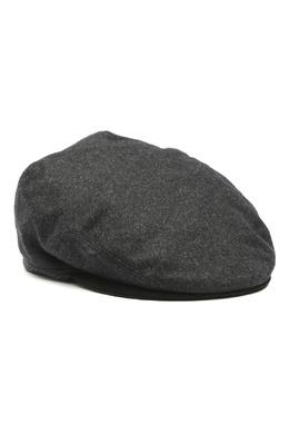 Темно-серая кепка из шерсти Lardini 2453175093