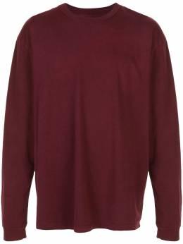 John Elliott однотонная футболка с длинными рукавами A189M14426A