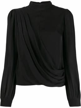 MICHAEL Michael Kors блузка асимметричного кроя с драпировкой MH94LZ6B06