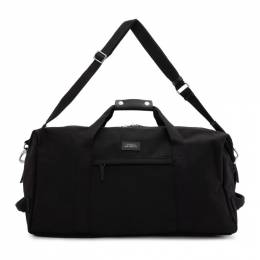Saturdays Nyc Black Core Norfolk Hold All Duffle Bag AA0001NF01