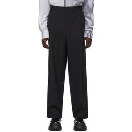 Juun.J Navy Wool Trousers JC0221P21R