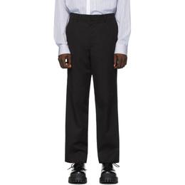 Juun.J Black Cotton Trousers JC0121P215