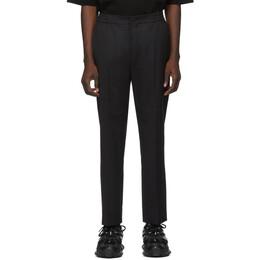 Juun.J Black Wool Trousers JC0121P015