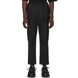 Juun.J Black Wool Cargo Pants JC0321P415
