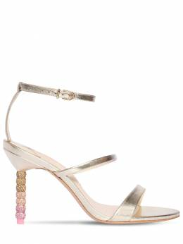 85mm Rosalind Metallic Leather Sandals Sophia Webster 71II7Q005-Q0hBTVBBR05FIE9NQlJF0