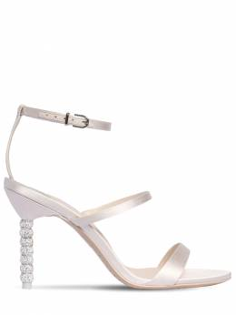 85mm Rosalind Satin Sandals Sophia Webster 71II7Q003-U09GVCBJVk9SWQ2