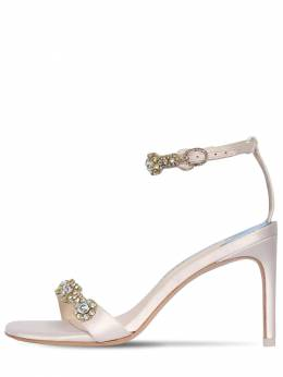 85mm Aaliyah Embellished Satin Sandals Sophia Webster 71II7Q002-U09GVCBJVk9SWQ2