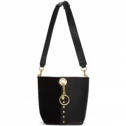 See By Chloe Black Small Gaia Tote CHS20SSA48631