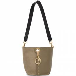 See By Chloe Grey Small Gaia Tote CHS20SSA48631