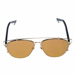 Dior Gold Mirror RHL83 Technologic Sunglasses 255275