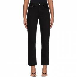 Toteme Black Original Jeans 193-232-744