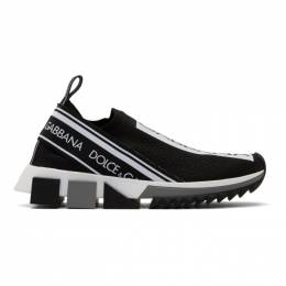 Dolce&Gabbana Black Sorrento Slip-On Sneakers CK1595 AH677