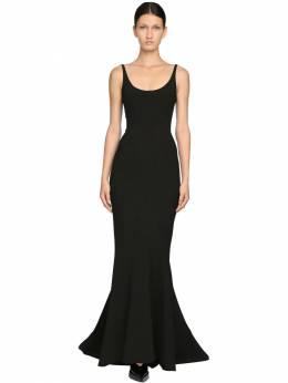 Платье Из Техноматериала Mugler 71I1KT016-MTk5OQ2