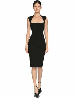 Платье Из Техноматериала Mugler 71I1KT007-MTk5OQ2