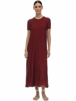 Платье Из Вискозы И Трикотажа Agnona 71I0XG012-UjYy0