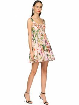 Платье Из Хлопка Поплин Dolce&Gabbana 71I01Z005-SEYxQUo1