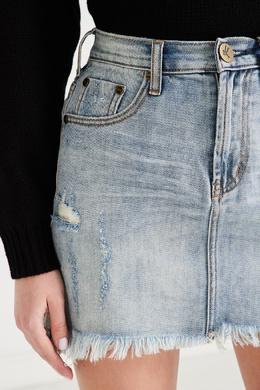 Джинсовая юбка мини One Teaspoon 1092175608
