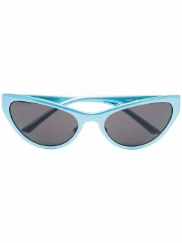 Balenciaga Eyewear солнцезащитные очки в оправе 'кошачий глаз' BB0068S004