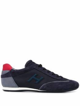 Hogan кроссовки на шнуровке HXM05201684N6Z50CH