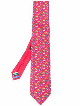 Etro галстук с принтом 1T1215120